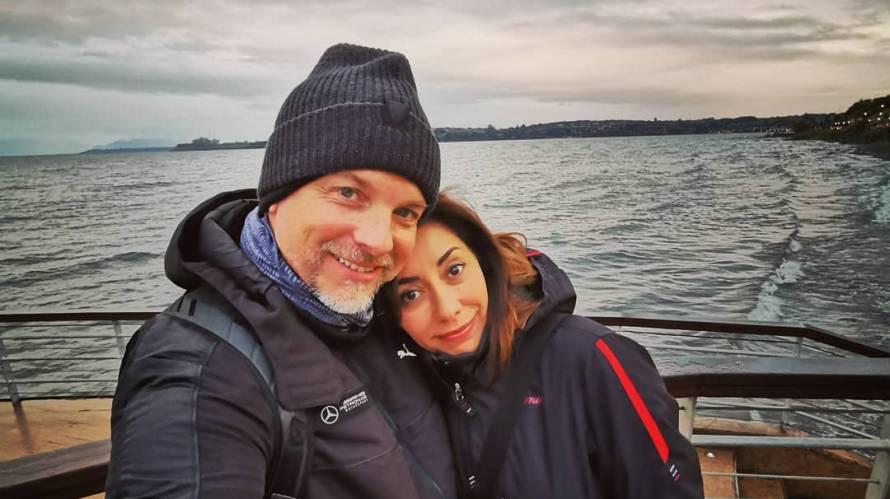 Carmen Gloria Arroyo y Bernardo Borgeat impactan con romanticas fotos en San Valentín