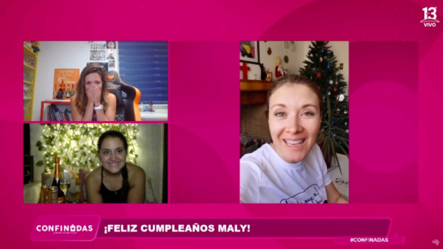 """Celebramos a Maly Jorquiera en """"Confinadas"""""""
