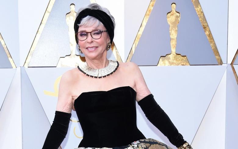 Oscar 2018: Rita Moreno sorprendió con el mismo vestido que en 1962