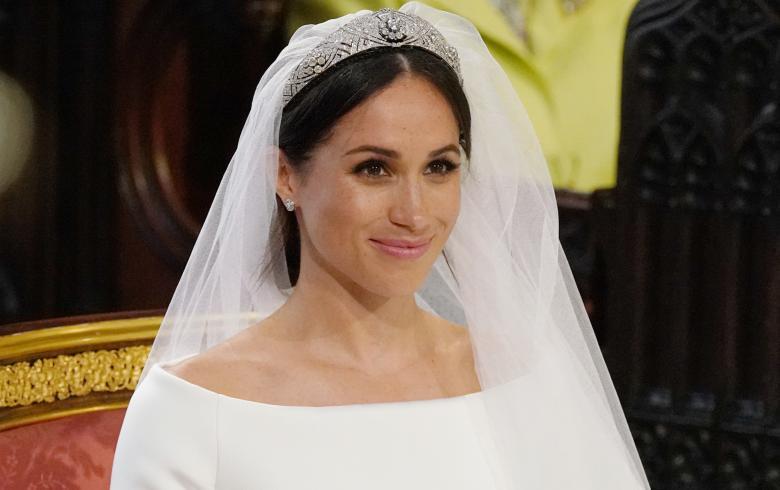 Análisis de look: Meghan Markle en la boda real