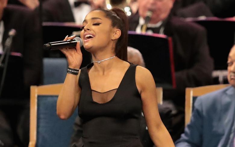 La aplaudida presentación de Ariana Grande en el funeral de Aretha Franklin