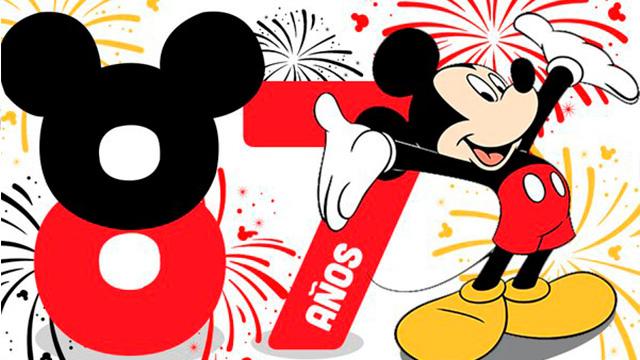 Mickey mouse cumple 87 a os 10 cosas que no sab as del - Alfombras mickey mouse ...