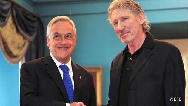 """Roger Waters confesó estar en """"shock"""" tras su reunión con"""