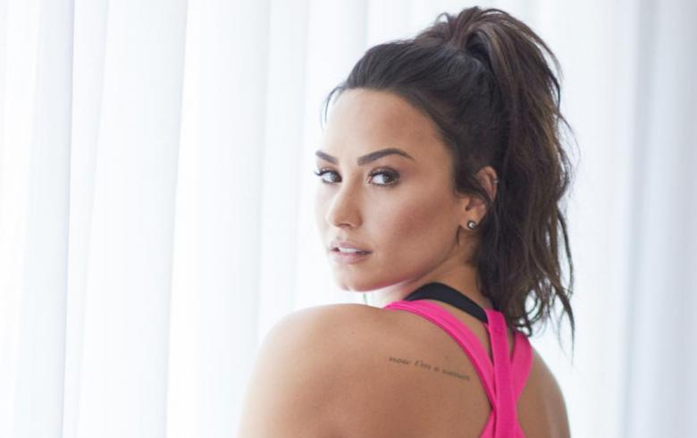 Demi Lovato muestra lo delgada que llegó a estar cuando luchaba con desórdenes alimenticios