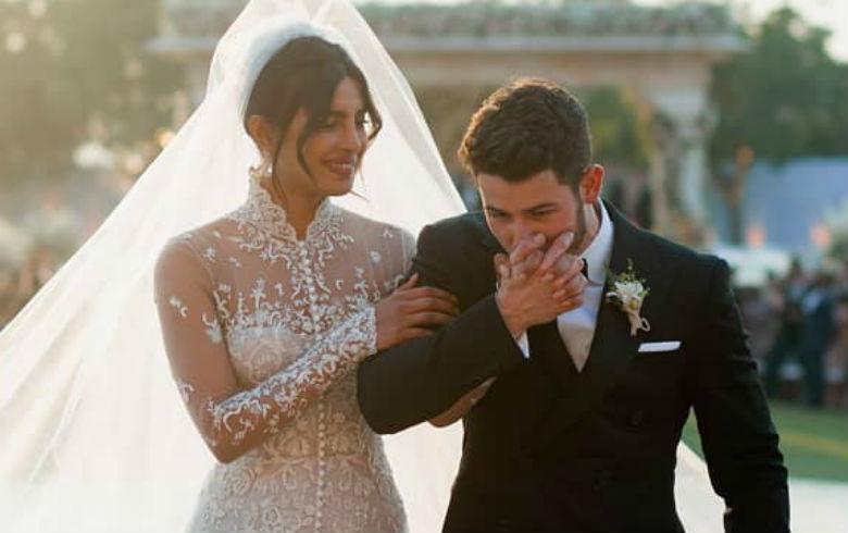 El casamiento de Nick Jonas con Priyanka Chopra — De película