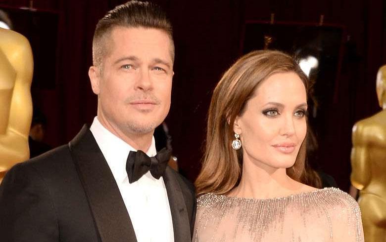 Angelina y Brad