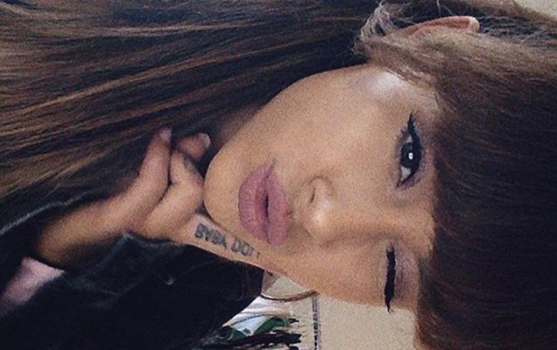 Los nuevos y pequeños tatuajes de Ariana Grande