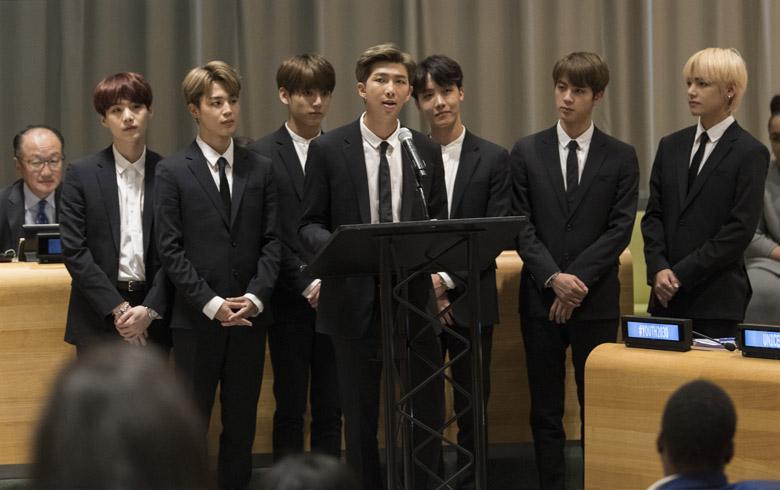 El conmovedor discurso de BTS en la ONU