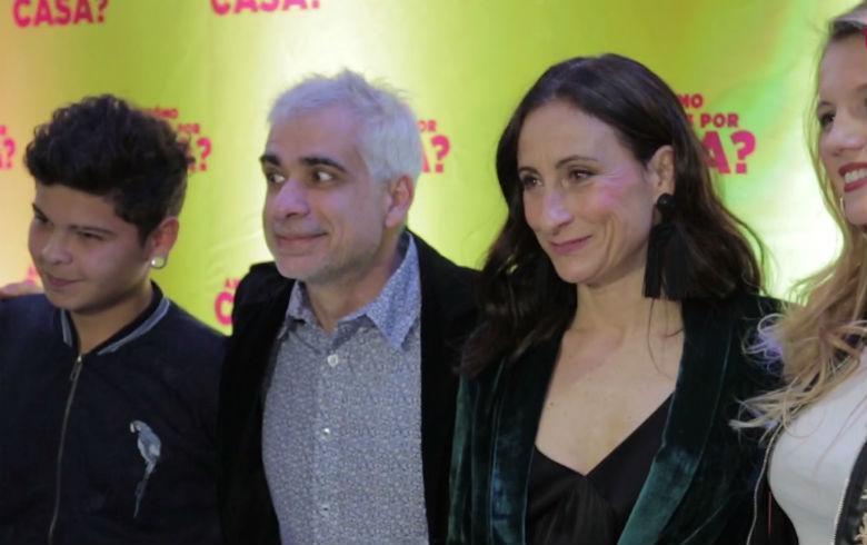 """Así fue la avant premiere de la película chilena """"¿Cómo andamos por casa?"""""""