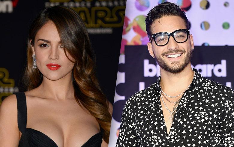 Maluma fue captado besando a actriz mexicana