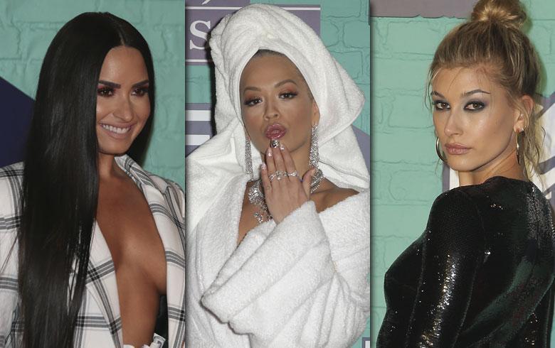 Los looks más comentados en la alfombra roja de los MTV EMA´s 2017