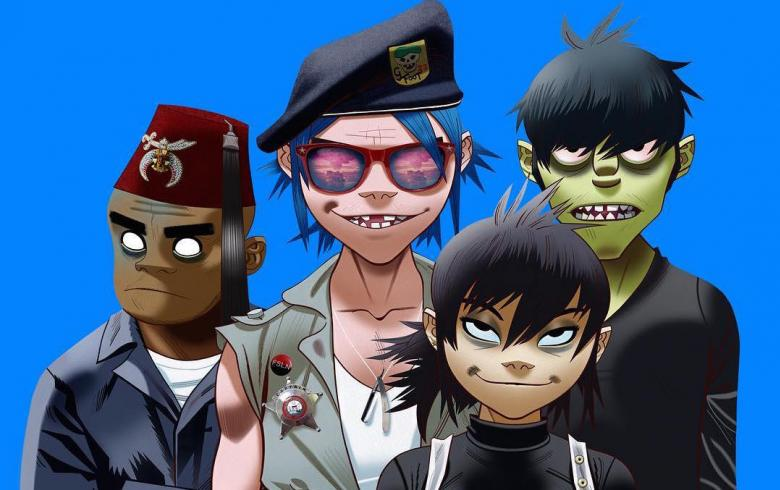 Confirman debut de Gorillaz en Chile