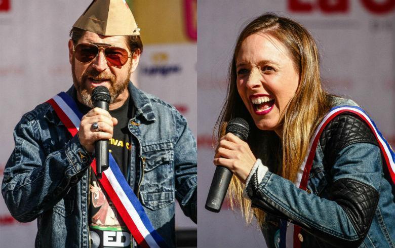 Maly Jorquiera y Freddy Guerrero se coronan cómo reyes guachacas 2018