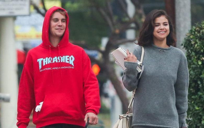 Selena Gomez y Justin Bieber inician el 2018 sudando la gota gorda