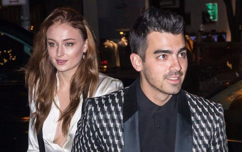 Joe Jonas y Sophie Turner celebraron su fiesta de compromiso