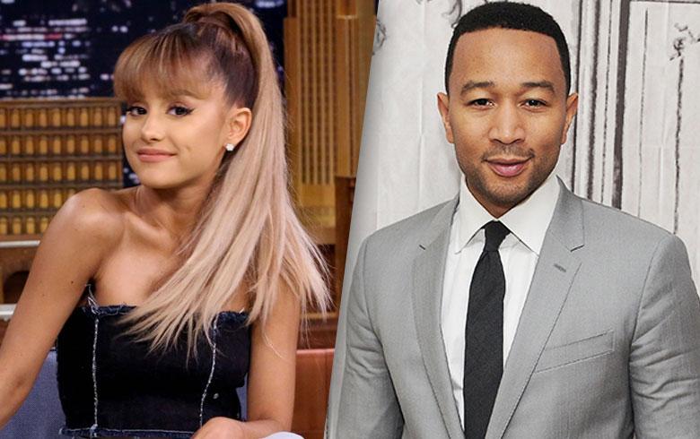 """Ariana Grande y John Legend grabarán tema de """"La Bella y la Bestia"""""""