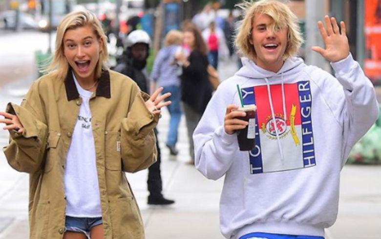 Difunden video de Justin Bieber besando a Hailey Baldwin