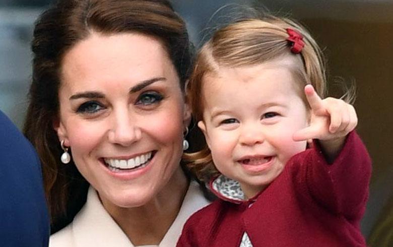 Princesa Charlotte, así fue a su primer día de escuela