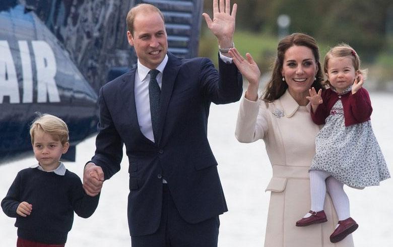 La princesa Carlota irá a la guardería en Londres en enero