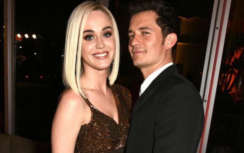 Katy Perry publica por error un mensaje picante a Orlando Bloom