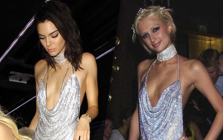 Paris Hilton inspira los looks de Kendall Jenner