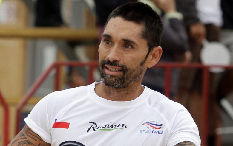 Marcelo Ríos arribó a Chile:
