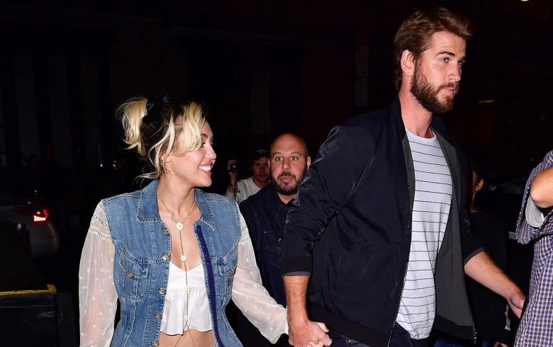 Miley Cyrus recordó su primer beso con Liam — Instagram