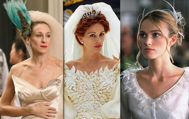 Los 10 vestidos de novia más hermosos del cine