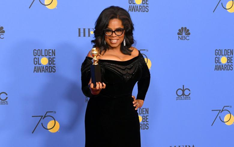 Oprah lanza potente discurso contra abusadores: