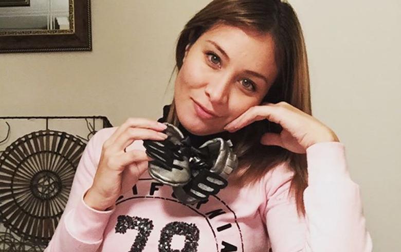 """2132d0066 Sabrina Sosa se convierte en rubia platinada  """"Adiós look embarazada ..."""