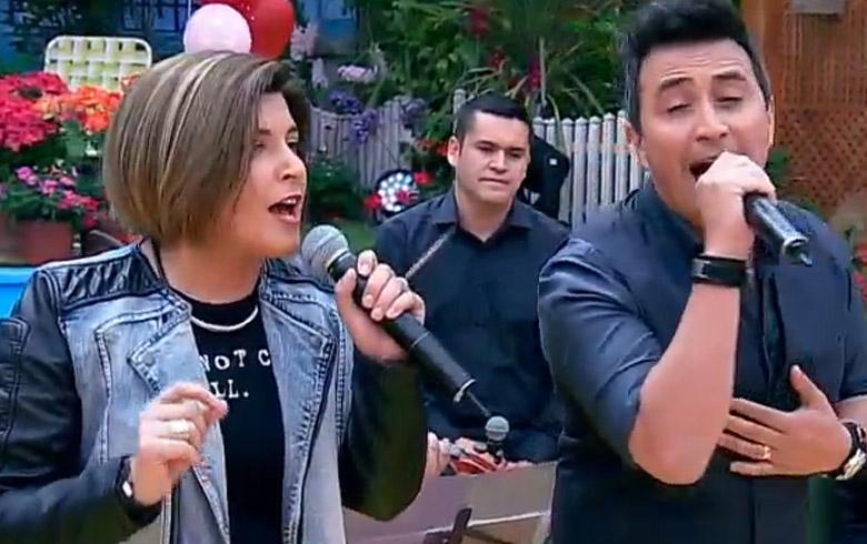 """Scarleth Cárdenas mostró su talento musical en """"Bienvenidos"""""""