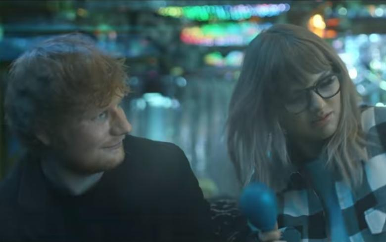 Taylor Swift, Ed Sheeran y Future juntos en nuevo videoclip musical