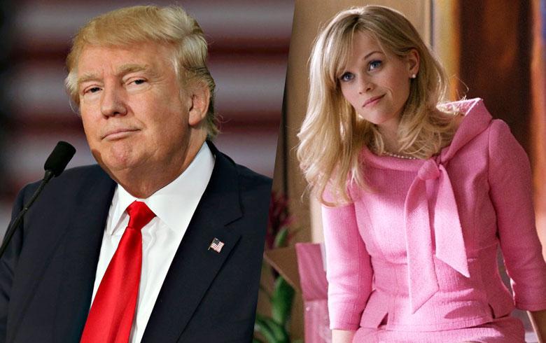 ¿Donald Trump se inspiró en un discurso de Legalmente Rubia?