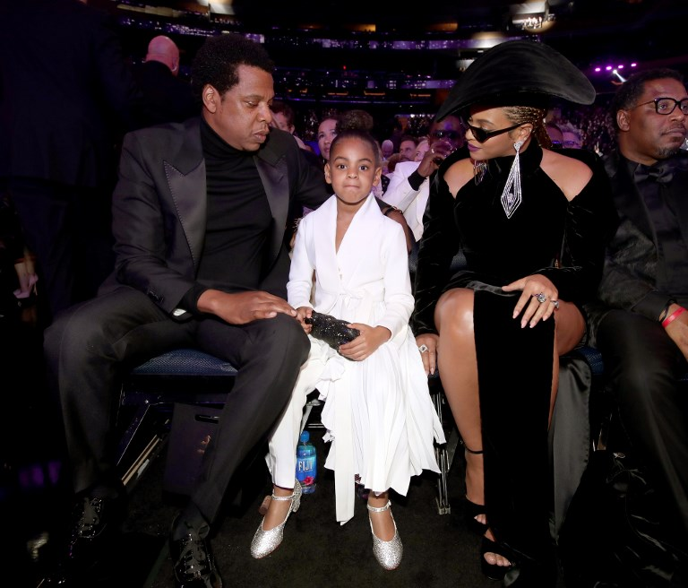 Así controla Blue Ivy a sus famosos padres Beyoncé y Jay-Z