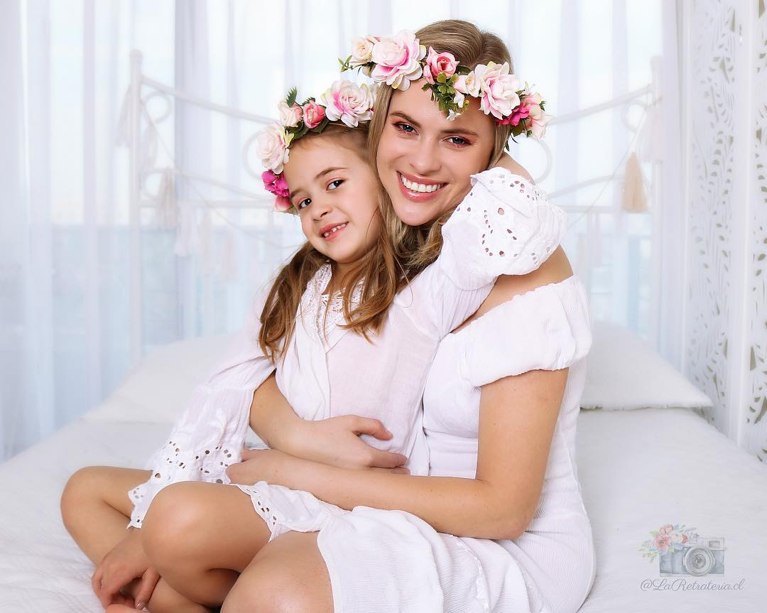 Eliana Albasetti Planifica Sesion De Fotos Con Su Hija Por Su