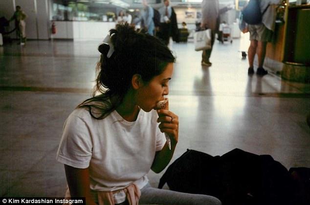 Así se veía Kim Kardashian cuando tenía 15 años
