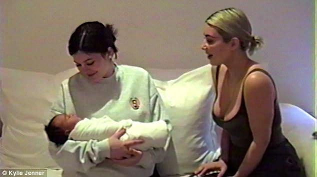 Kylie Jenner publicó un video detallando sus 9 meses de embarazo