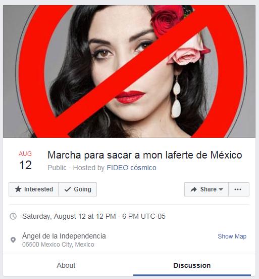 La razón de la marcha para que Mon Laferte deje México