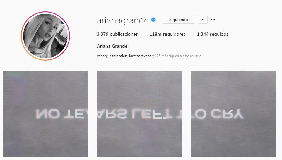 Ariana Grande lanza primer sencillo desde atentado en Mánchester