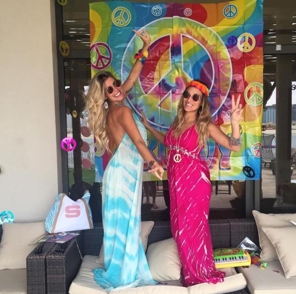 Cot l pez celebr sus 27 con fiesta hippie - Fiestas hippies decoracion ...