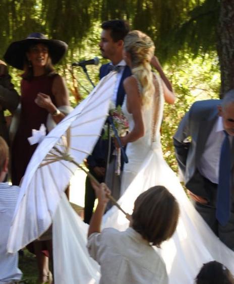 Matrimonio Simbolico Chile : Emilia daiber compartió fotos de su matrimonio en el sur de chile