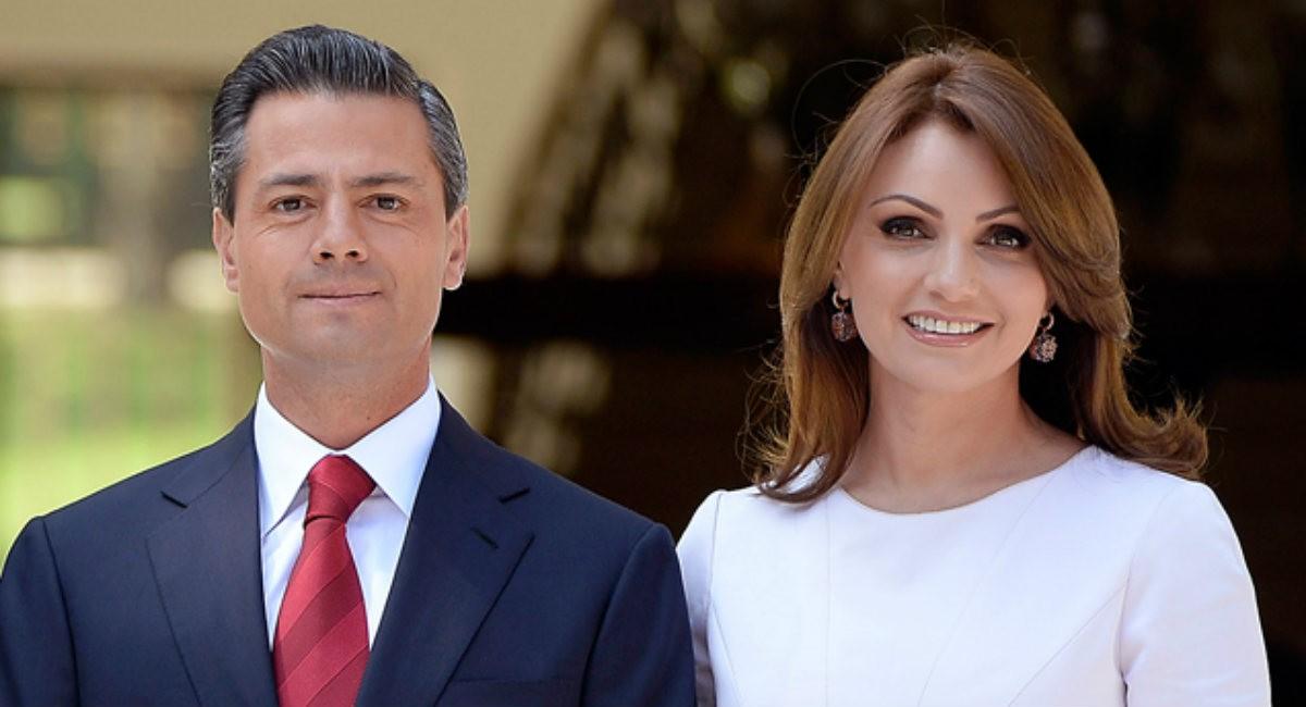 Resultado de imagen para Expresidente de México Peña Nieto junto a su esposa