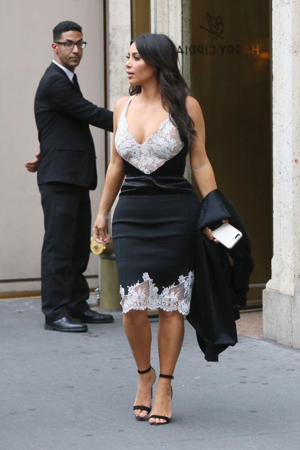7 Veces En Que Kim Kardashian Llev La Lencer A Al Street Style