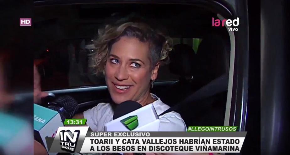 Catalina Vallejos habló de su supuesta relación con Toarii Valantin