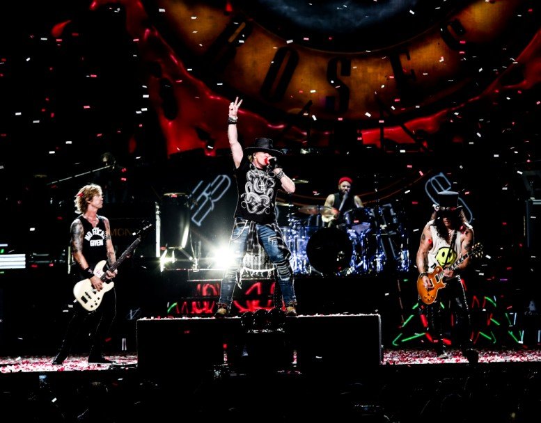 Inédito megafestival reúne en Chile a The Who y Guns N' Roses