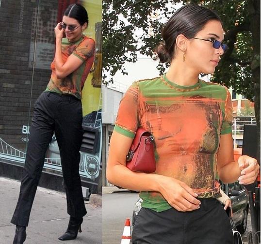 Publican fotos de Kendall Jenner sin nada de ropa