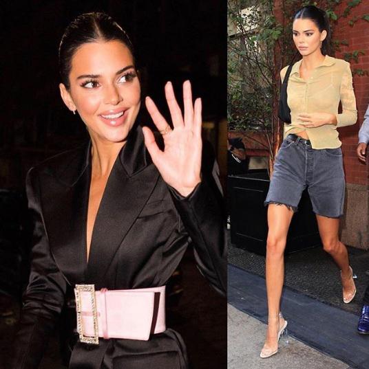 Las fotos robadas de Kendall Jenner desnuda circulan por las redes sociales