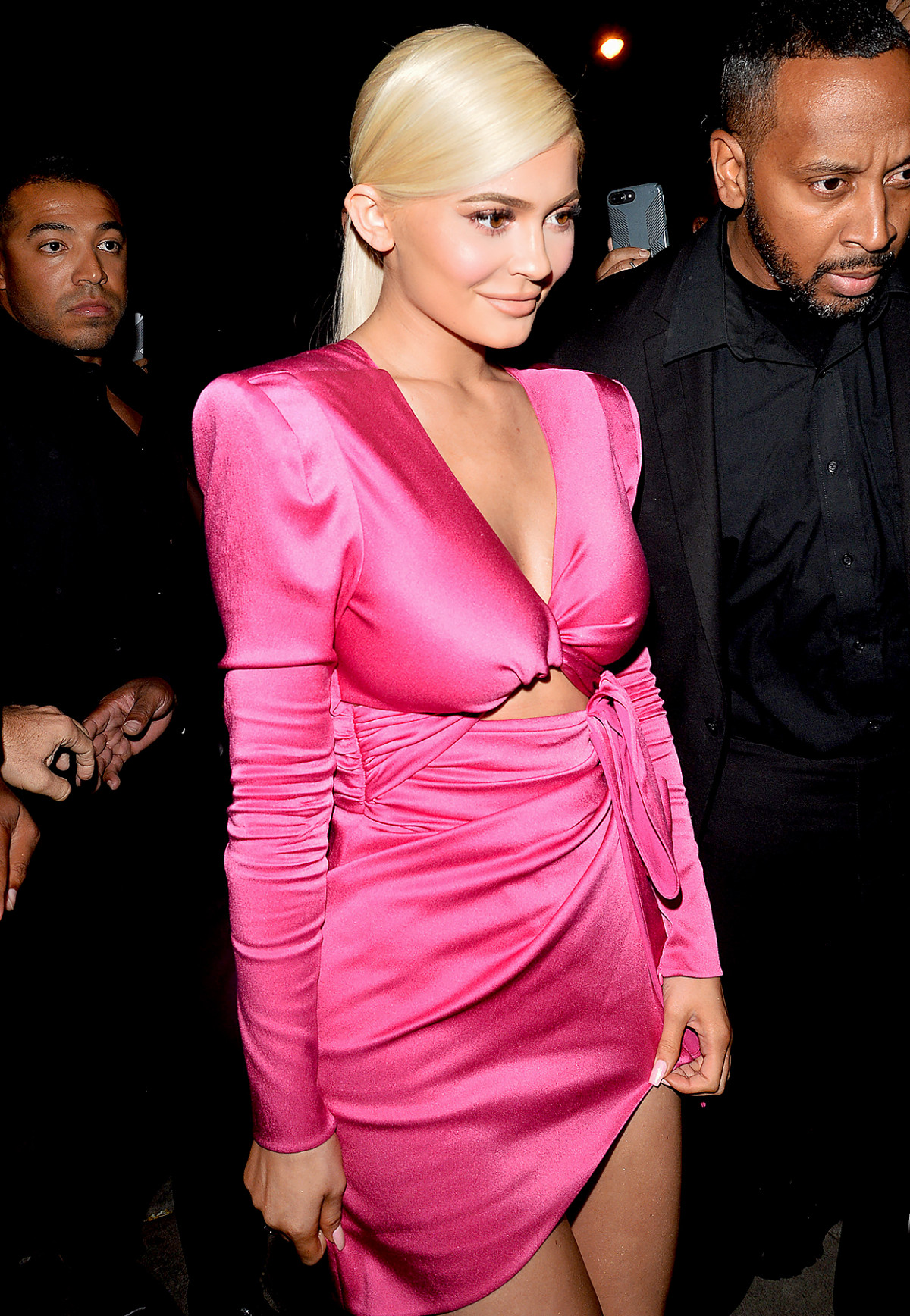 Los looks de las Kardashian en la rosada fiesta de Kylie Jenner ...