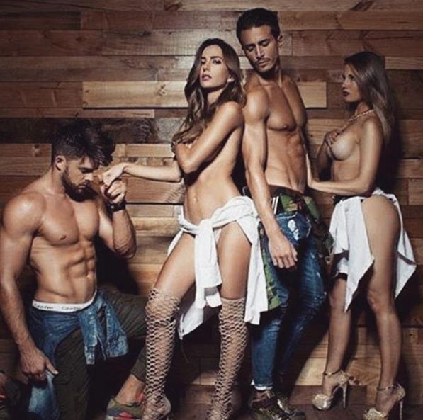 Marco Ferri Protagoniza Semi Desnudo Junto A Sus Dos Ex Ar13cl