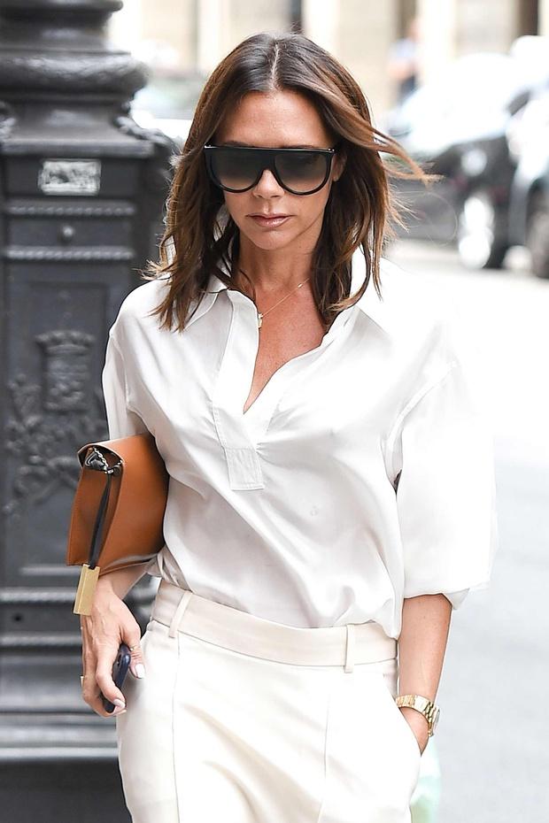 f34cbce1d Victoria Beckham convirtió un pantalón en falda | AR13.cl